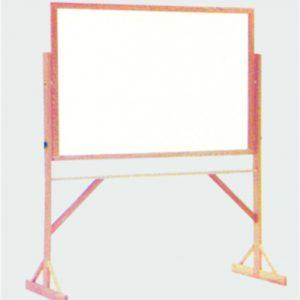 Quadro Branco ou Magnético - moldura e cavalete de madeira