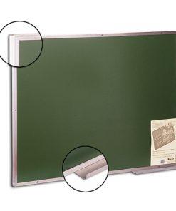 Lousa verde para escrita a giz em bastão ou líquido