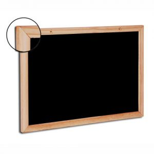 Quadro negro magnético Chalckboard moldura PINUS