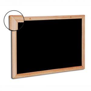 Quadro negro Chalckboard moldura de madeira PINUS - POPULAR